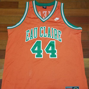 Vintage Eau Claire high basketball jersey NBA